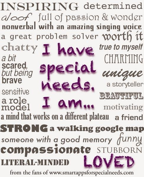 Special Needs Quotes Inspirational Quote. QuotesGram