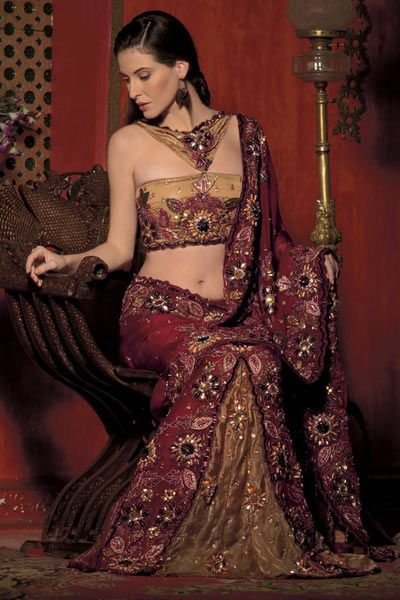 Queen Of Heaven...: Indian Wedding Dress Lehenga Choli..