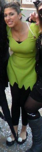 Costume Trilly fai da te #trilly #campanellino #diy #peterpan #disney #faidate #tinkerbell #costume #carnevale #halloween #mardigras