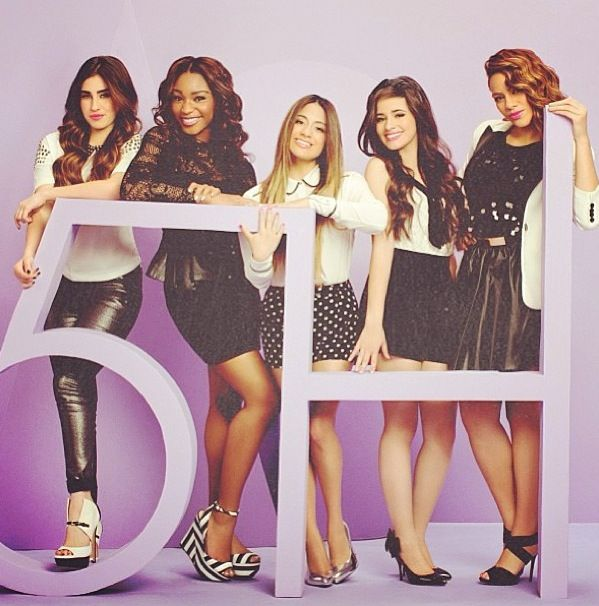 Fifth Harmony, I have to say I've loved the since the X Factor. I'm going to meet them at their concert.