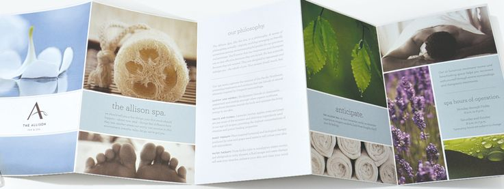 Spa Brochure Design Ideas Pinterest Brochures and Editorial - spa brochure
