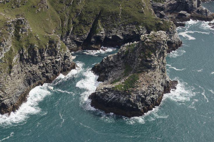 Long Island & Travalga Cliff - North Cornwall aerial image | by John Fielding #cornwall #aerial #coast #trethevy #longisland #travalga #cliffs