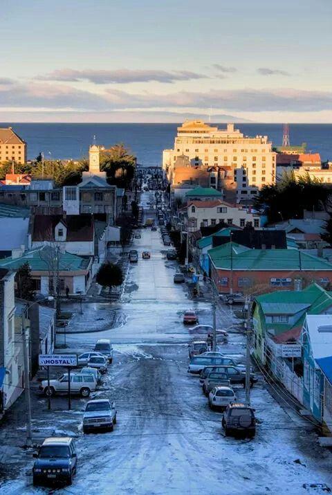 Punta Arenas, Sur de Chile.