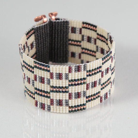 Saganaw telar pulsera joyería artesanal suroeste por PuebloAndCo