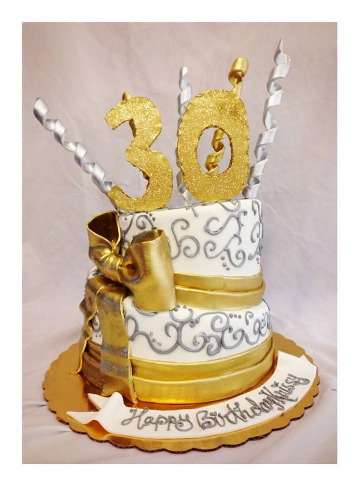 17 Best Images About Cakes 30th Birthday On Pinterest