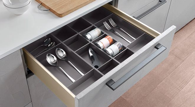 Drawer Organizer Store Fixtures Concealed Hinges Drawer Organisers