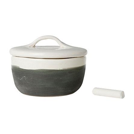 Chalkboard Jam Pot