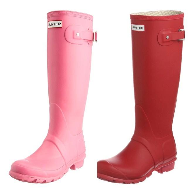 Las botas Hunter se han convertido en un básico para los  futuros días de lluvia intensa que nos traerá el mes de abril.