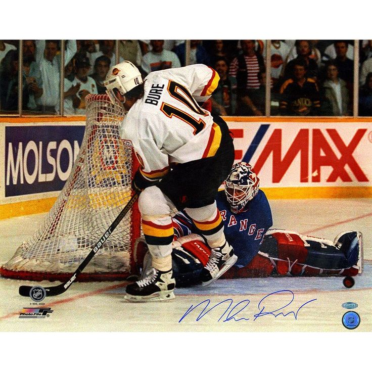 Mike Richter Penalty Shot vs. Pavel Bure Horizontal 16x20 Photograph