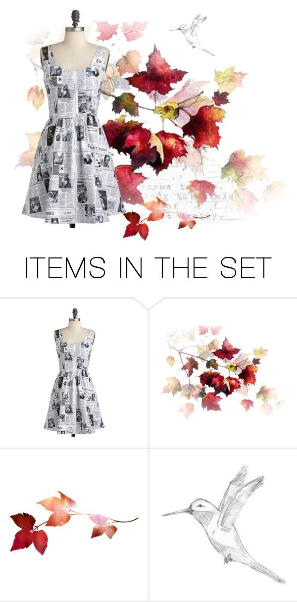 """Autumn News"" by samantha-estelle ❤ liked on Polyvore featuring art"