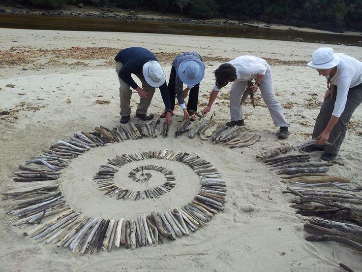 MOST POPULAR. FACEBOOK 15 Aug Chris Reinders. Creating Spirals. Site_Specific #LandArtBiennale. #LandArt