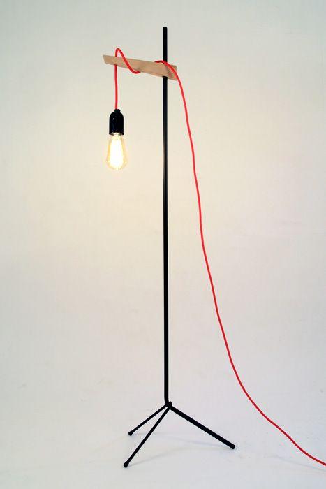 lamp eik en staal