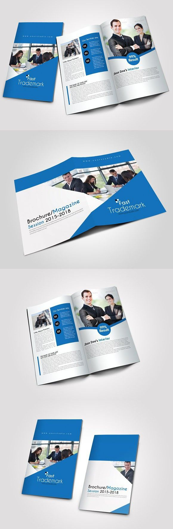 6541 best creative business card templates images on pinterest 4 pages business bi fold brochure creative business card templates fbccfo Gallery