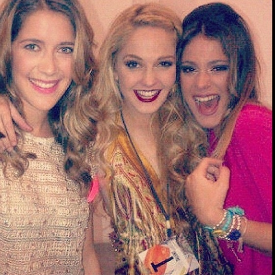 Clara Alonso, Mercedes Lambre and Martina Stoessel #Violetta