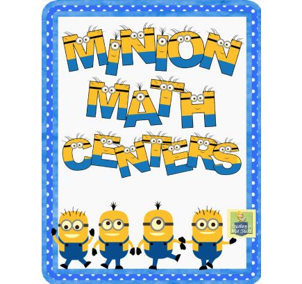 Free Minion Math Activities from sponsor @educents #homeschool #homeschoolfreebies #math