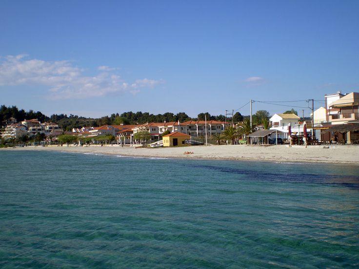 Παραλία Σίβηρης (Siviri Beach) στην πόλη Σίβηρη, Χαλκιδική