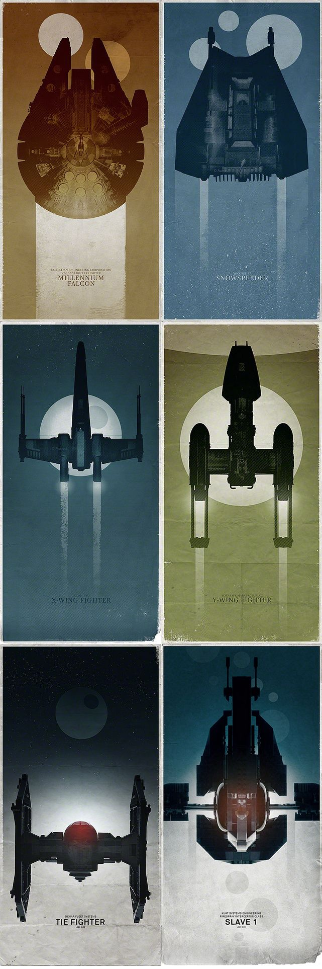 Star Wars Ships.. Gonna need to memorize these so I can keep up with the X wings game..