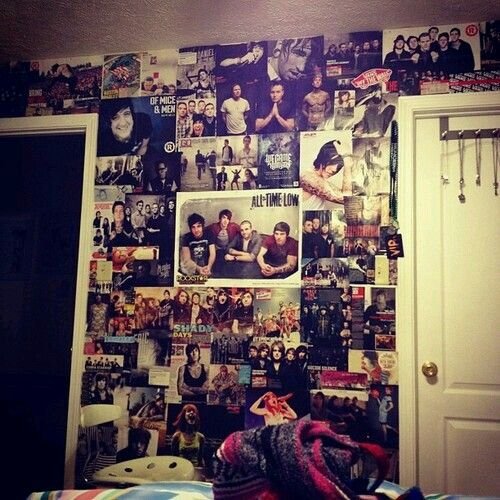 Wall of posters | Indie scene room ideas | Pinterest | Poster