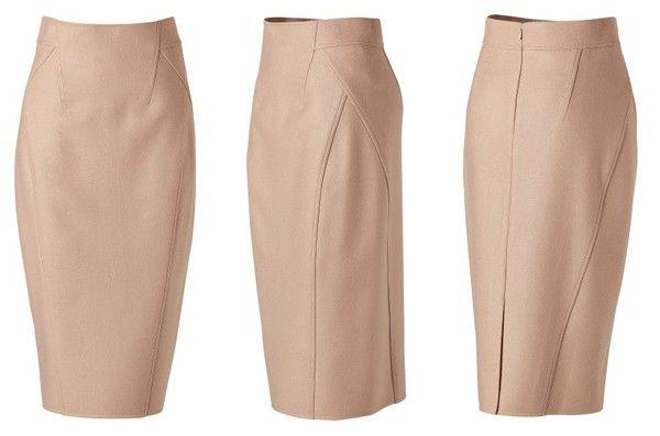 I can do that: Donna Karan skirt - tutorial