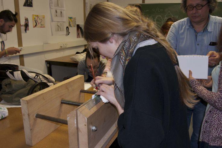 Obradoiro encuadernación- Esdemga Universidade de Vigo