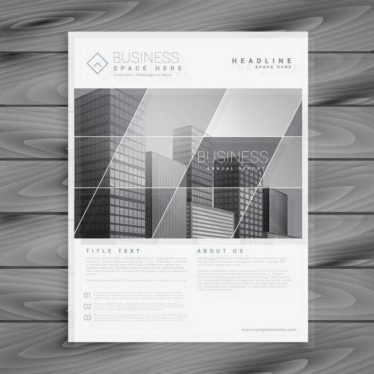 Company Brochure In A Stylish Design - FREE