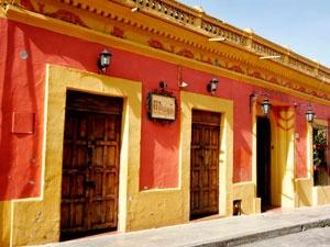 #Hotel Mansión de los ángeles es un cómodo hotel ubicado en San Cristóbal de las Casas, #Chiapas en una Hermosa Casona del Siglo XVII