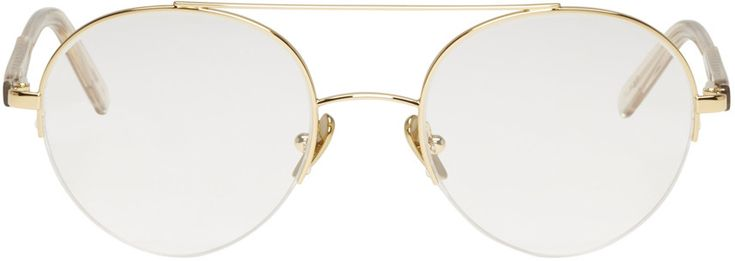 SUPER Gold Numero 24 Glasses. #super #24