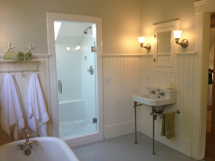 Beautiful Craftsman bathroom in Larkspur home - in Marin County, CA