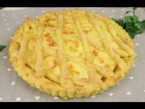 Potato pie: a great idea for dinner! - YouTube