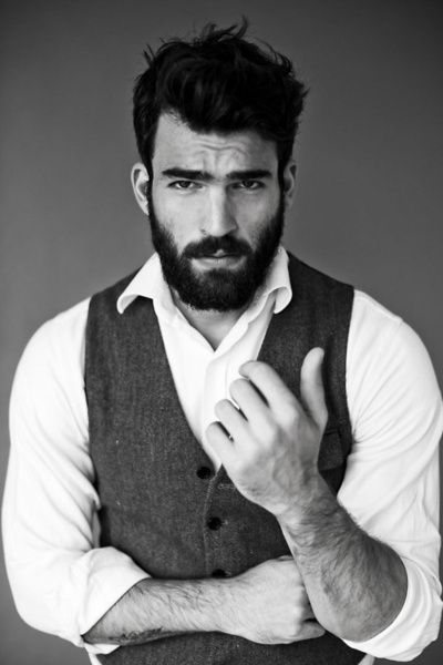 What is up with all the handsome bearded men?!