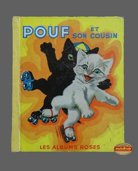 Livre Collection ... POUF et SON COUSIN (1958) * Albums Roses * ... sur www.mulubrok.fr