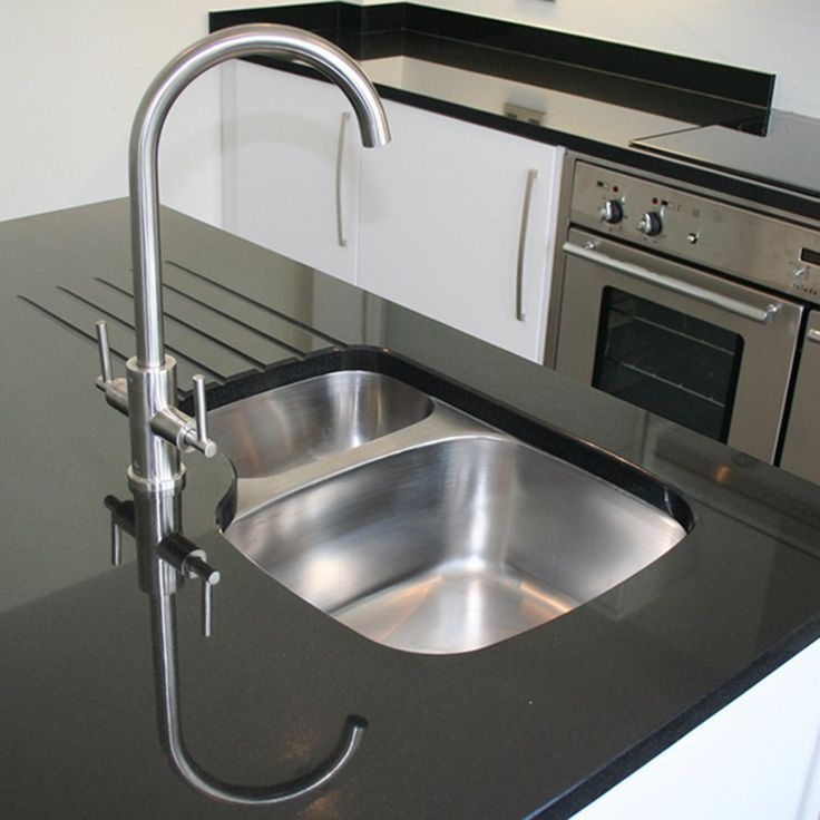 Astini Renzo 1.5 Bowl Brushed Stainless Steel Undermount Kitchen Sink RHSB