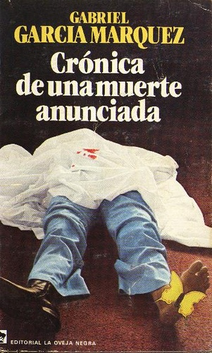 Cronica de una muerte anunciada - The book that made me at 8 years old discovering the pleasure of reading