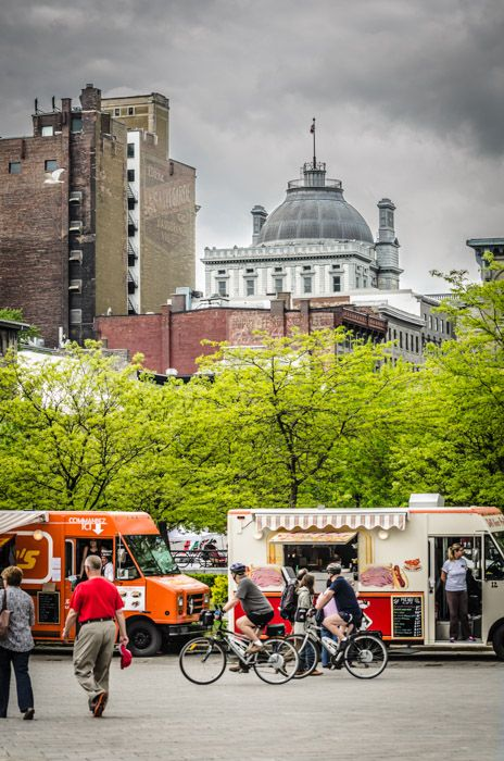 Photo du jour: Street food at the Old Port of Montreal - Spacing Montreal