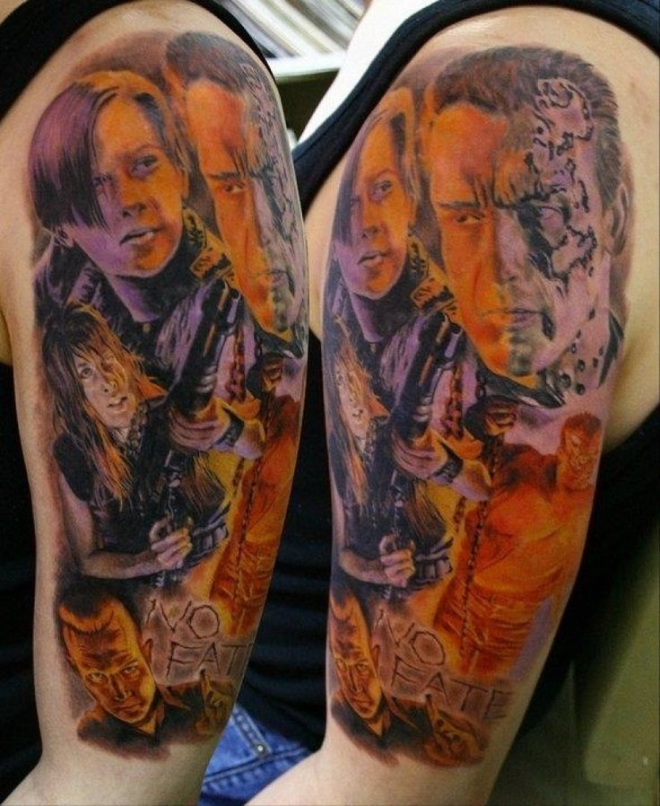 17 Best Images About Tattoos On Pinterest: 17 Best Images About Terminator Tattoos On Pinterest