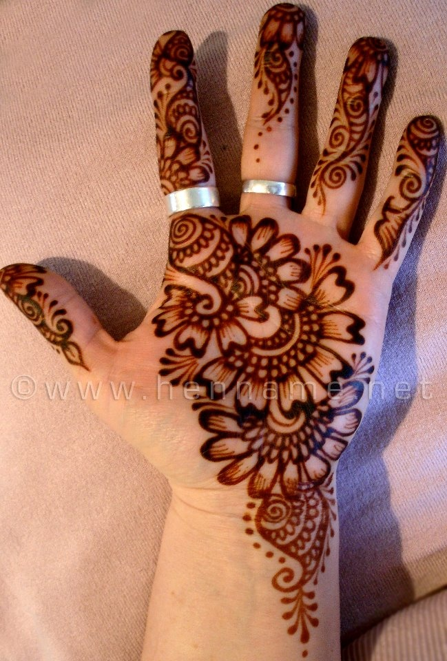 Mehndi Palm Design : Images about henna on pinterest