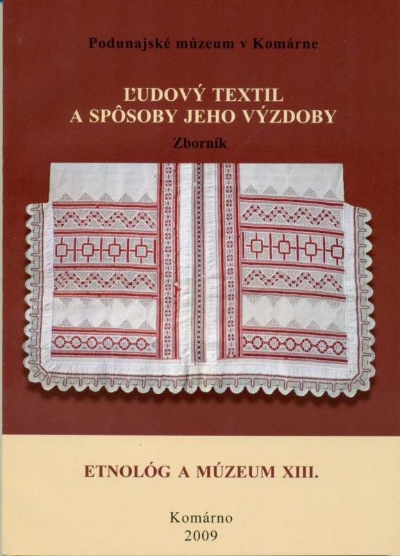 Slovenský ľudový textil, 2009 (book)