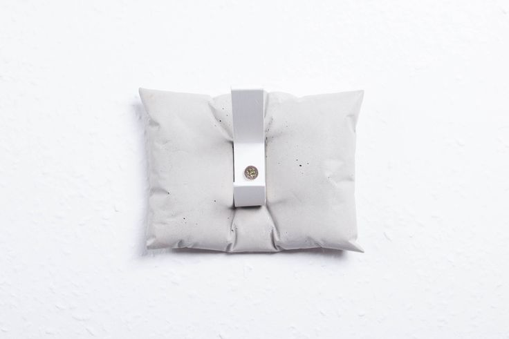 ABConcrete Design's concrete hanger #pillow #concrete