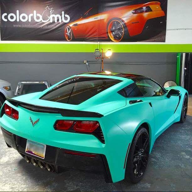 car wrap corvette - photo #5