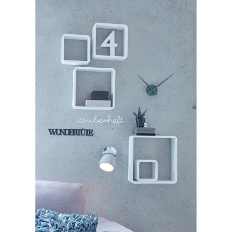 Regal-Set, 5-tlg. Cube, Modern Vorderansicht
