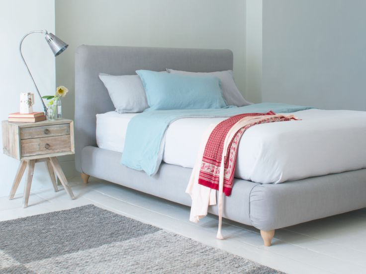 Ruffle Bed | Contemporary Upholstered Bed | Loaf