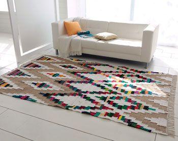 tapis motifs ethniques - Becquet