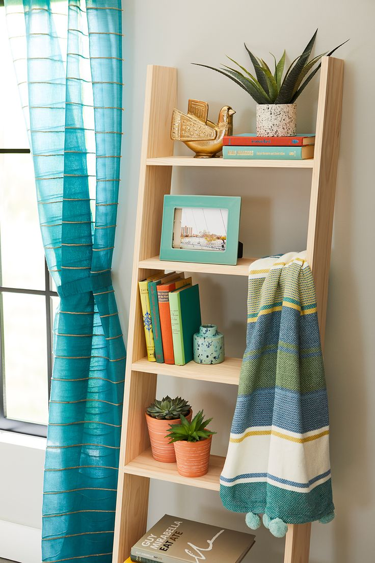 Build a Ladder Bookcase to Display All Your Favorite Items