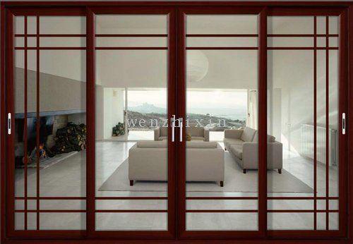 ventanas de aluminio color madera - Buscar con Google