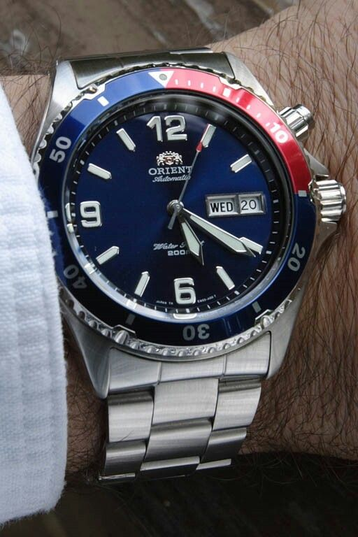 Orient Mako   Pepsi - My watch