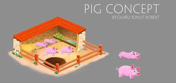Game artwork_Farm game on Behance
