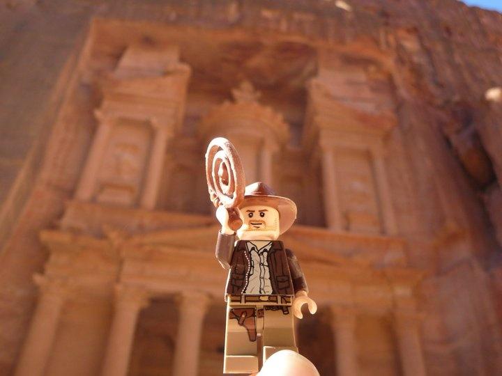 Lego Indiana Jones at Petra