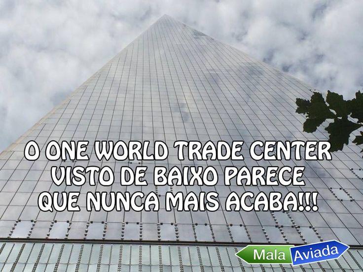 O One World Trade Center está situado no mesmo sítio que o antigo World Trade Center destruído pelos ataques terroristas do 11 de Setembro.  Com uma altura de 541,3 metros, o One World Trade Center é o edifício mais alto dos EUA e um dos mais altos do mundo!
