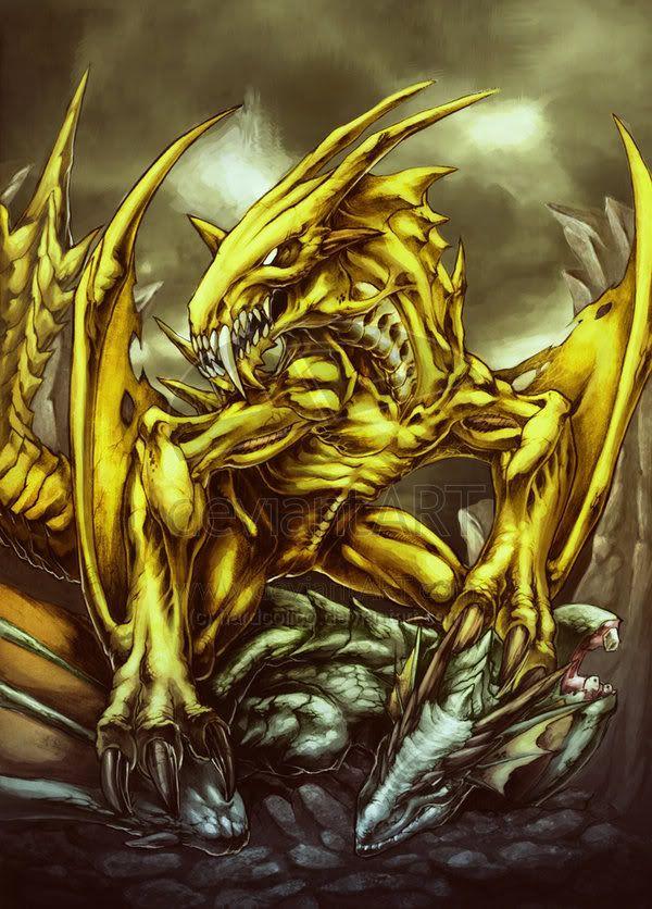 Sruvara (Iranian) - Extreme poisonous, yellow dragon with ...
