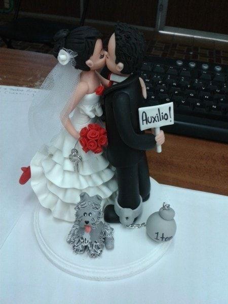 muñecos para el pastel de boda - Buscar con Google